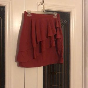H & M ruffled skirt
